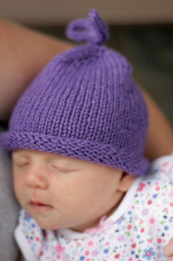 24 Baby Hat Knitting Patterns - The Funky Stitch de2573d0215