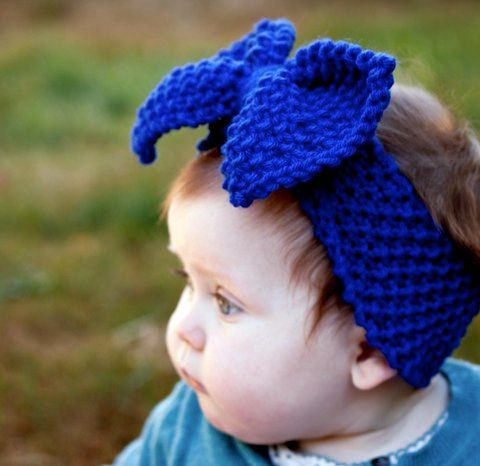 2 Knitted Headband With Bow Patterns The Funky Stitch