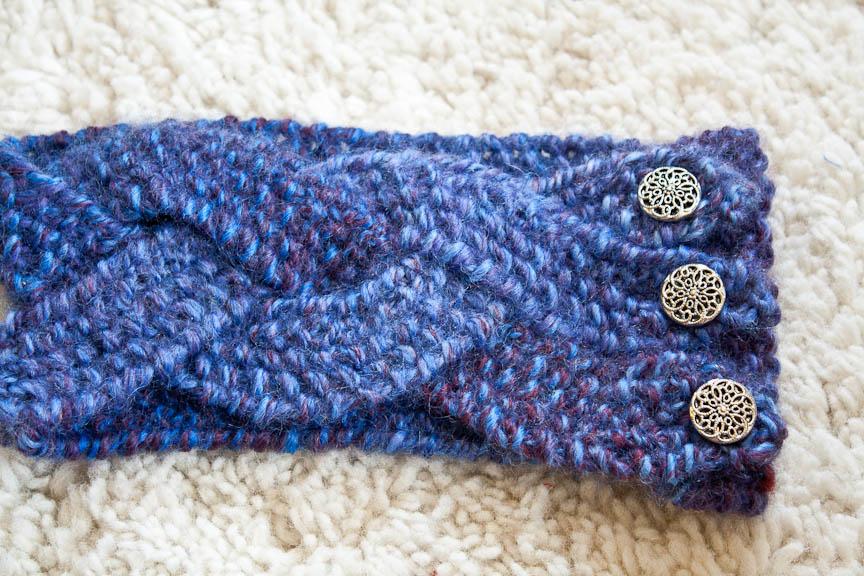 10 Braided Knit Headband Patterns - The Funky Stitch
