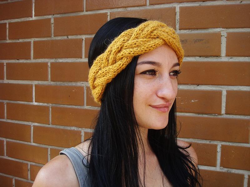 10 Braided Knit Headband Patterns The Funky Stitch
