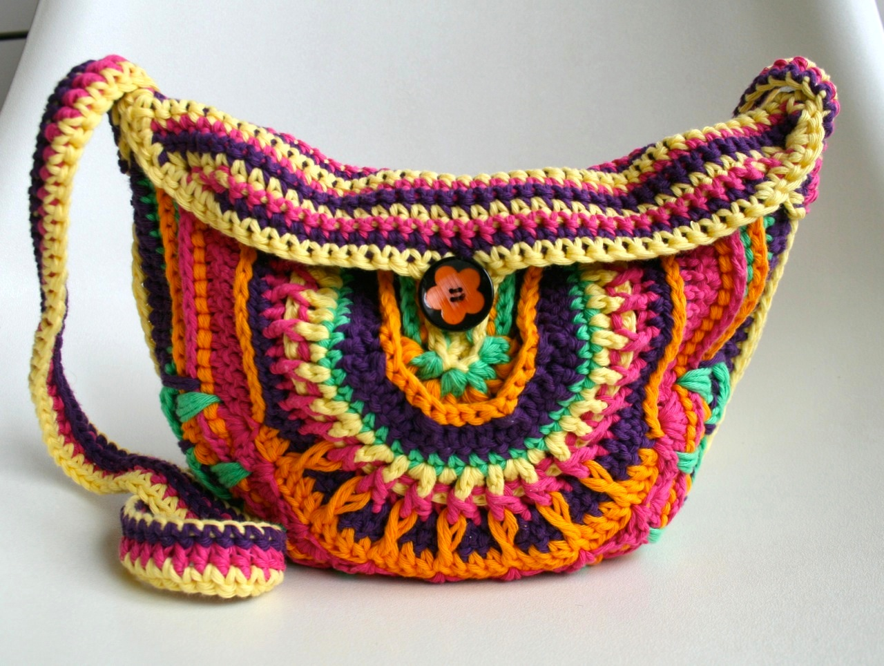 31 crochet purse patterns the funky stitch crocheted purse pattern bankloansurffo Choice Image