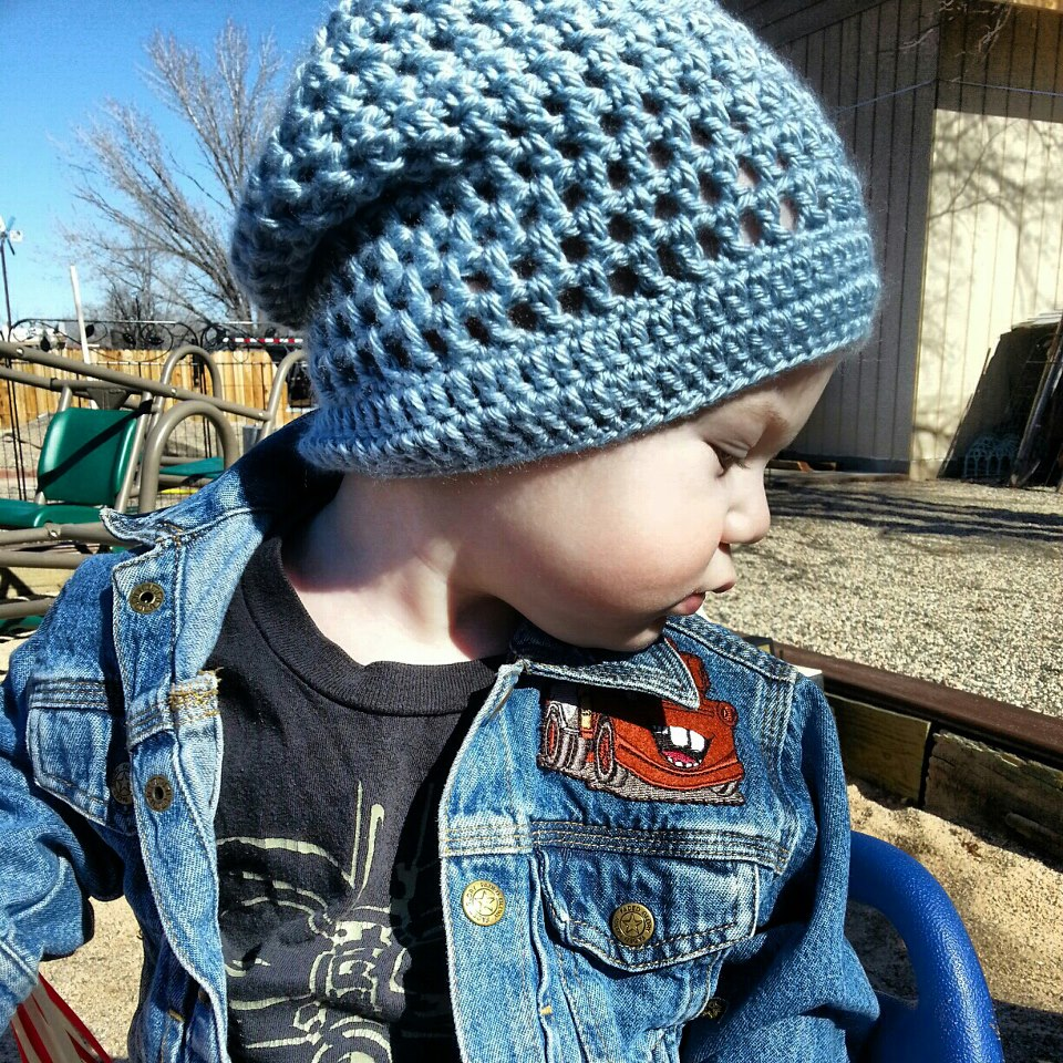 34 slouchy beanie crochet patterns for beginners the funky stitch crocheted slouchy beanie bankloansurffo Gallery