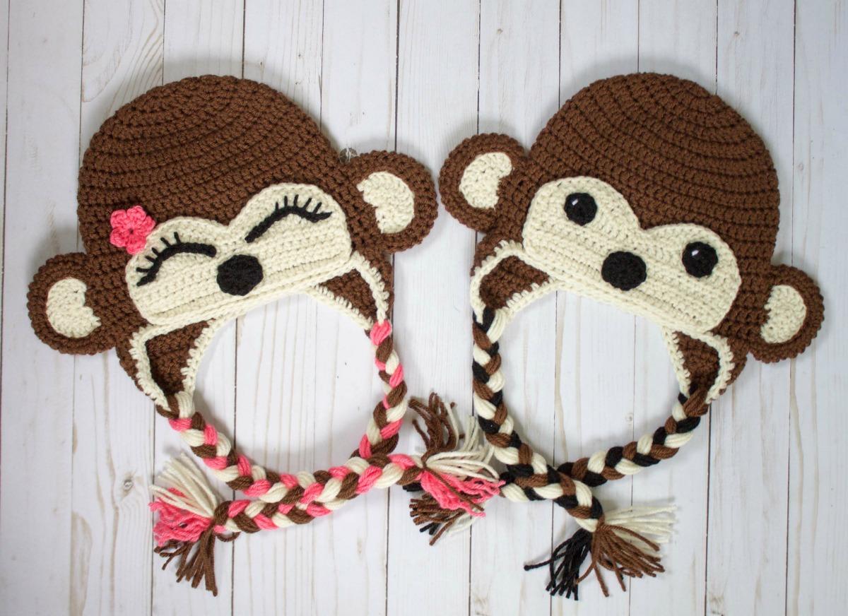 ddf003c6e6e 5 Sock Monkey Hat Knitting Patterns - The Funky Stitch
