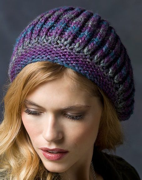 15 Knit Beret Hat Patterns The Funky Stitch