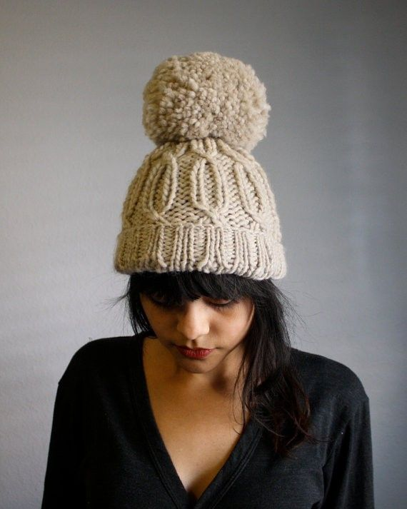 10 Chunky Knit Hat Patterns - The Funky Stitch