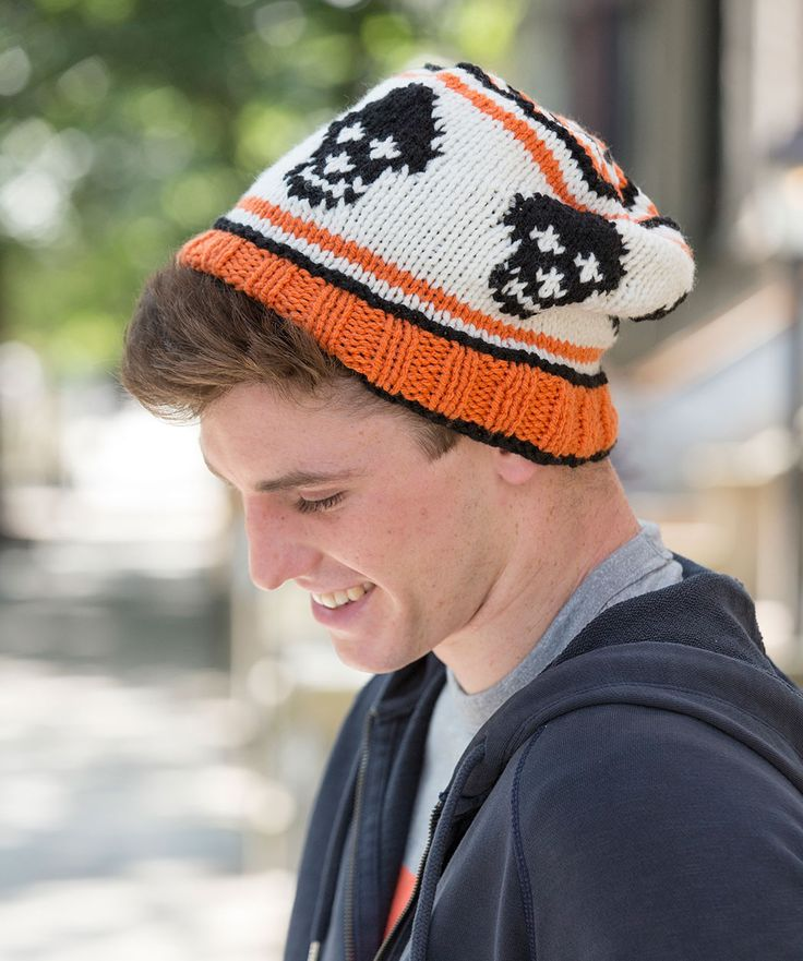 9 Knit Skull Cap Pattern The Funky Stitch