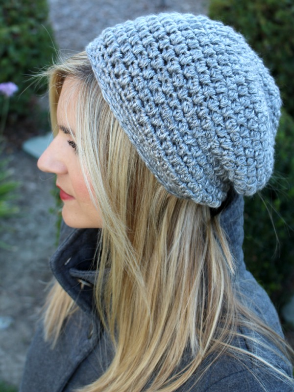 6 Slouchy Beanie Knit Patterns The Funky Stitch