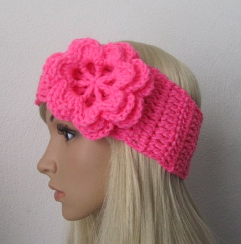 8 Knitted Headband With Flower Patterns The Funky Stitch