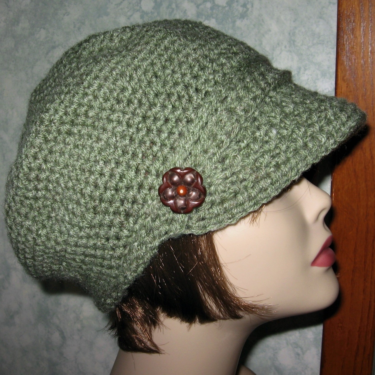 8 Knit Beanie with Visor Patterns - The Funky Stitch