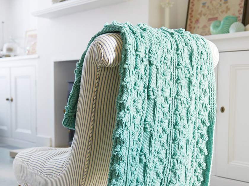 30 Knitted Afghan Patterns The Funky Stitch