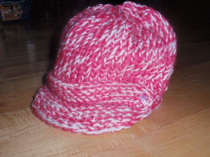 12 Loom Knitting Hat Patterns - The Funky Stitch