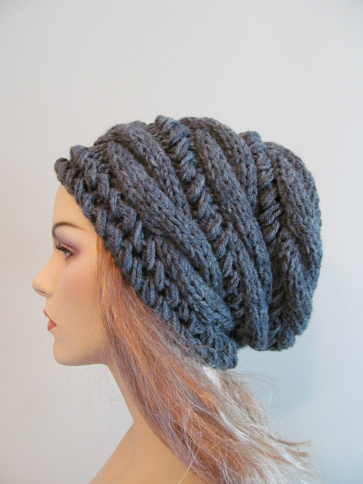 34 Slouchy Beanie Crochet Patterns for Beginners - The ...