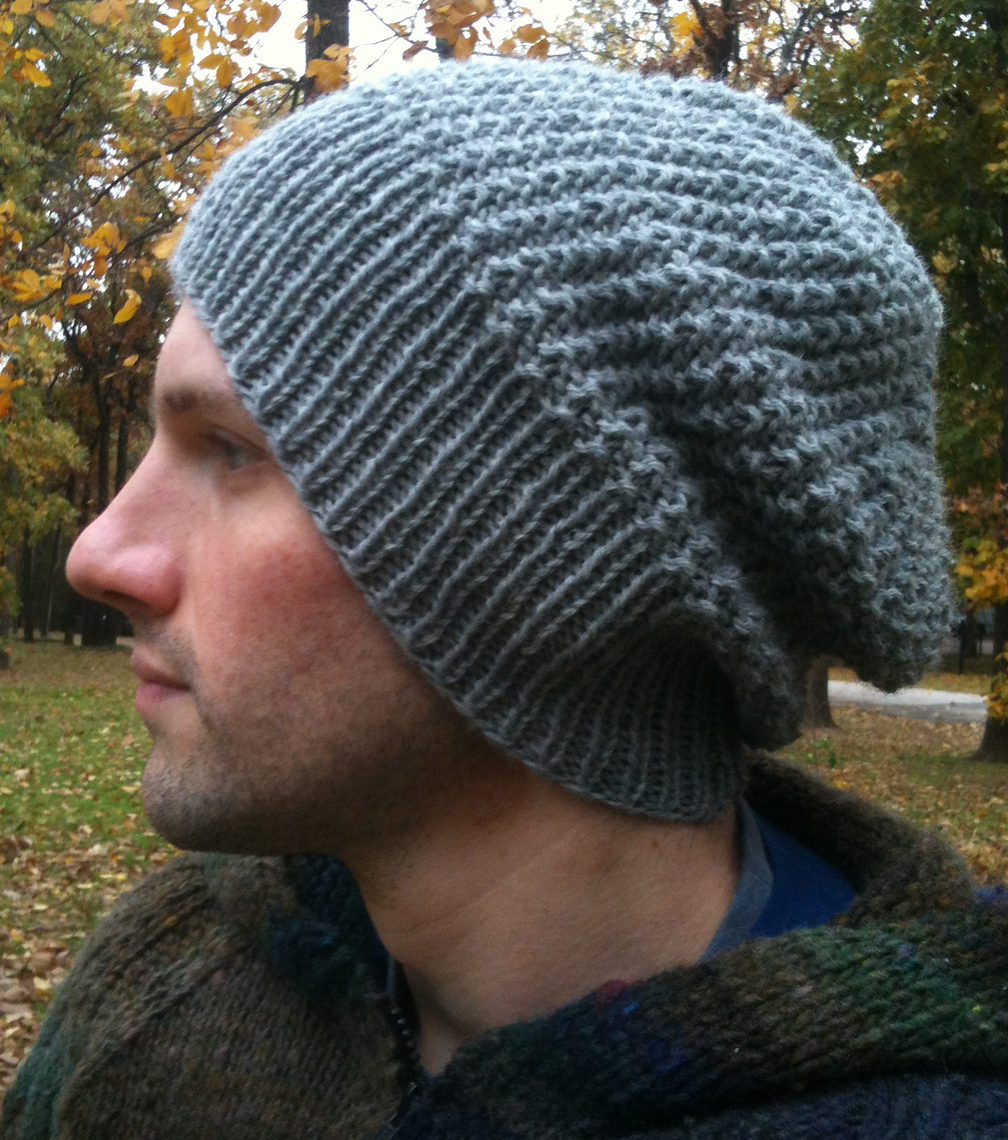 16 Men s Knit Hat Patterns - The Funky Stitch 25b98cbf929