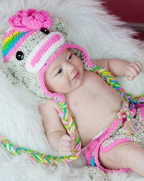 5 Sock Monkey Hat Knitting Patterns - The Funky Stitch