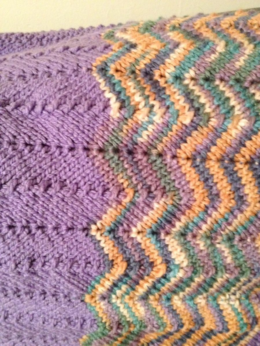 8 Chevron Baby Blanket Knitting Patterns The Funky Stitch