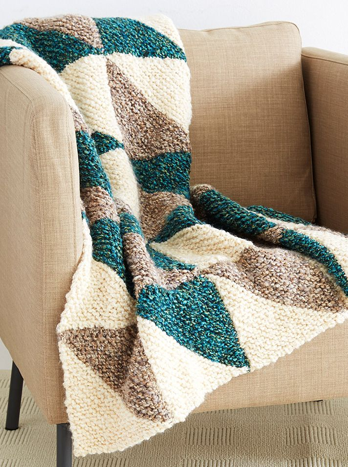 30 Knitted Afghan Patterns - The Funky Stitch
