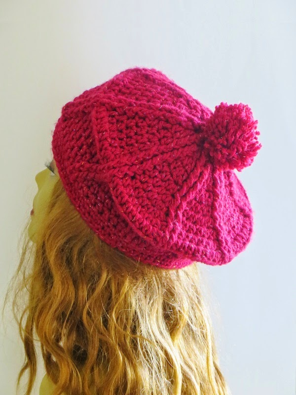 15 Knit Beret Hat Patterns - The Funky Stitch