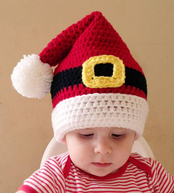 7 Knitted Santa Hat Patterns - The Funky Stitch