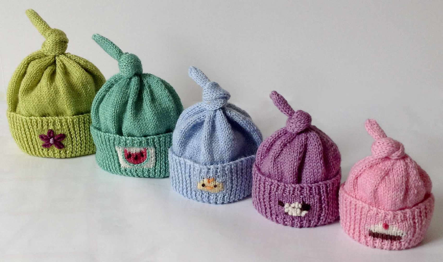 7fc9e05fef1 8 Preemie Knit Hat Patterns - The Funky Stitch