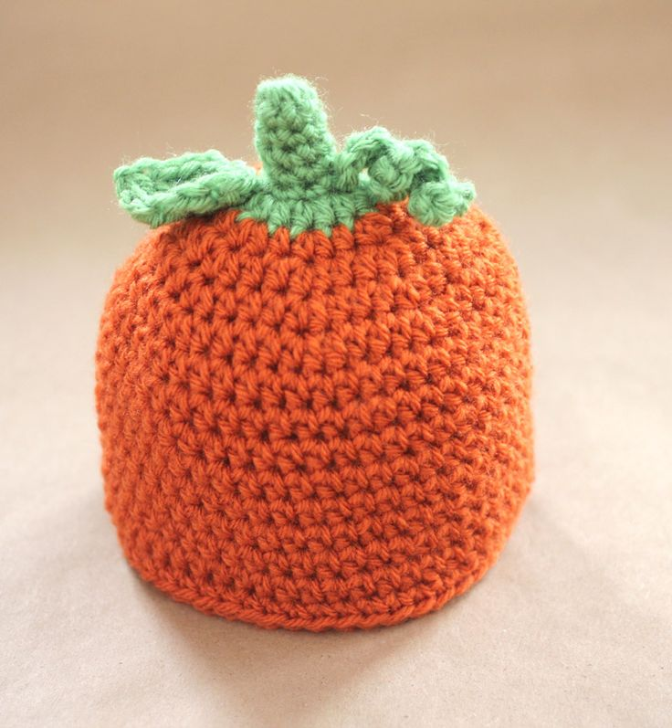 6 Knitted Pumpkin Hat Patterns - The Funky Stitch