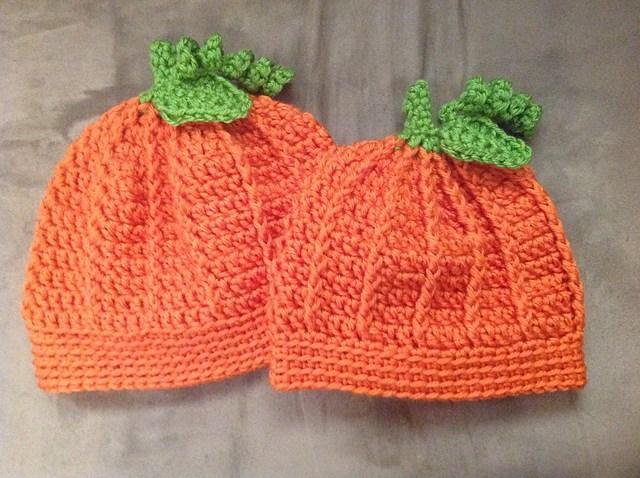 6 Knitted Pumpkin Hat Patterns - The Funky Stitch 04d5d75e2d8