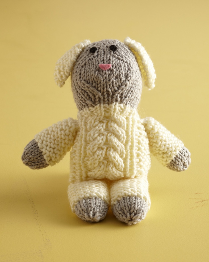 8 Knitted Sheep Patterns - The Funky Stitch