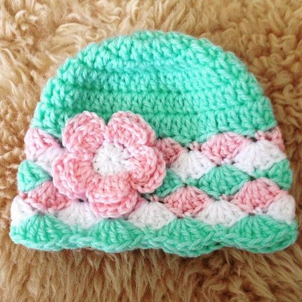 9 Knit Hat With Flower Patterns The Funky Stitch