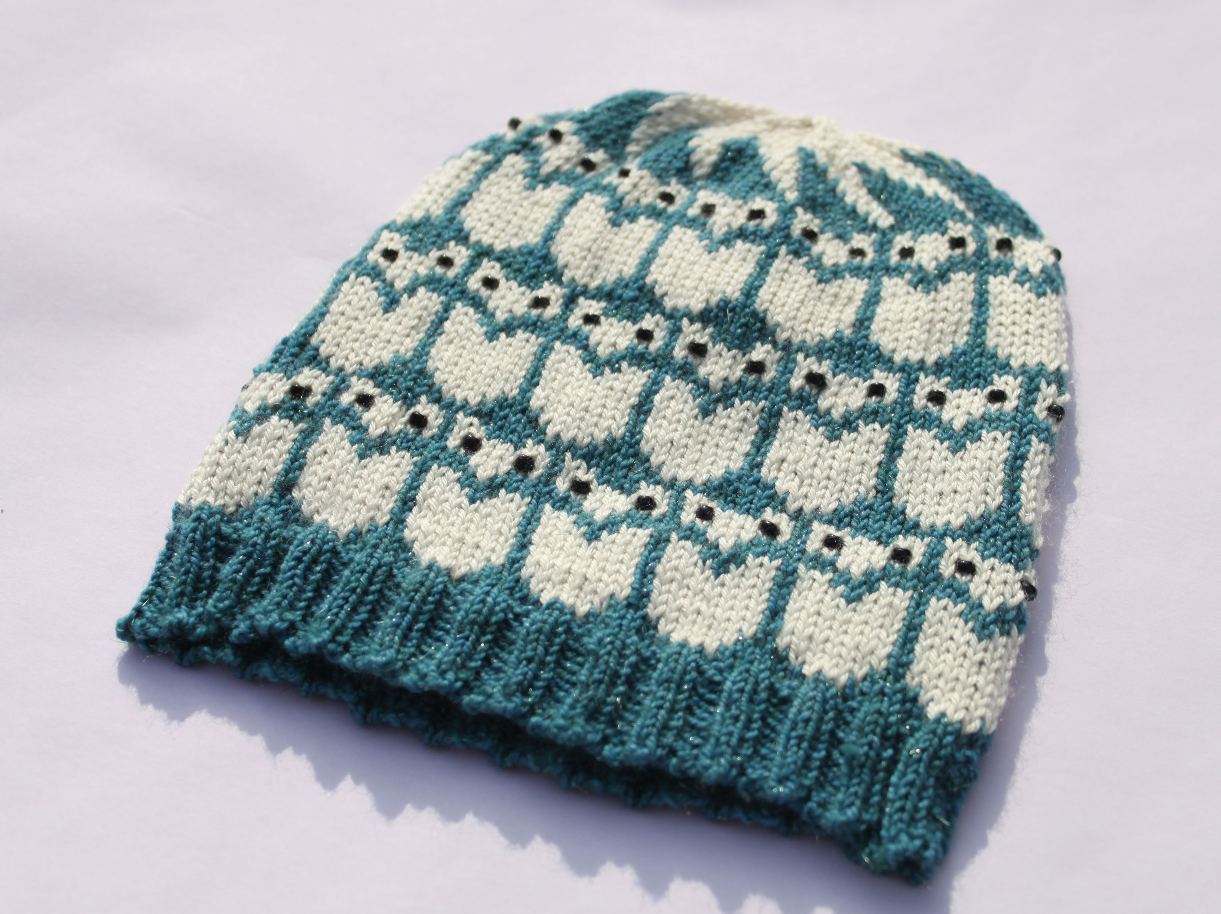 9 Knit Skull Cap Pattern - The Funky Stitch