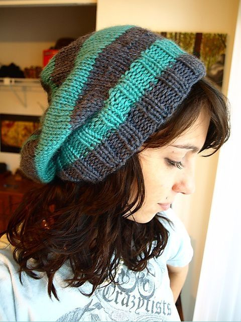 34 Slouchy Beanie Crochet Patterns For Beginners The Funky Stitch
