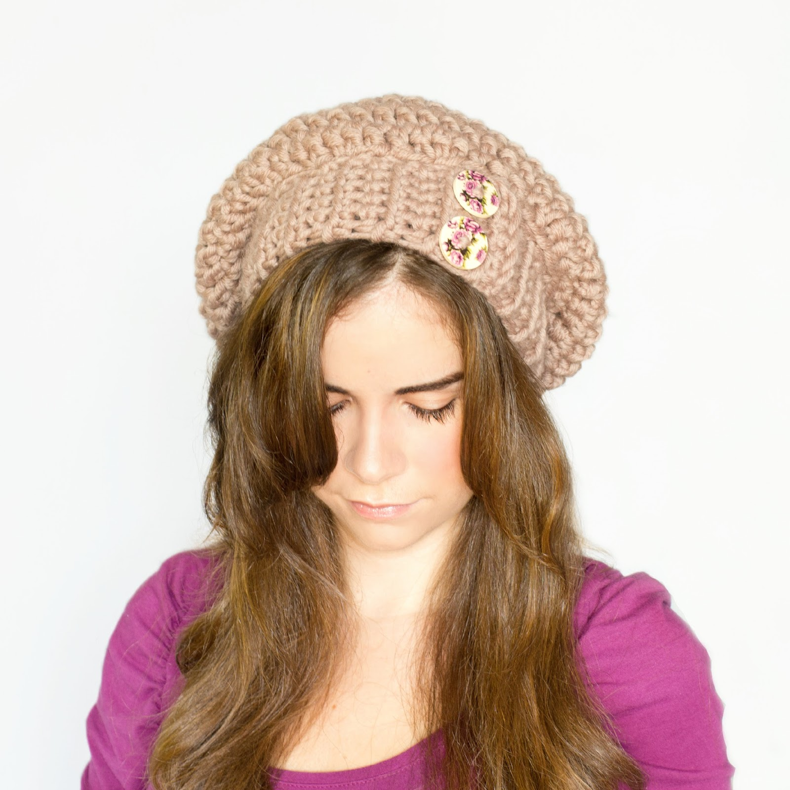 34 slouchy beanie crochet patterns for beginners the funky stitch so hurry and make a super slouchy beanie toddler slouchy beanie crochet pattern bankloansurffo Gallery