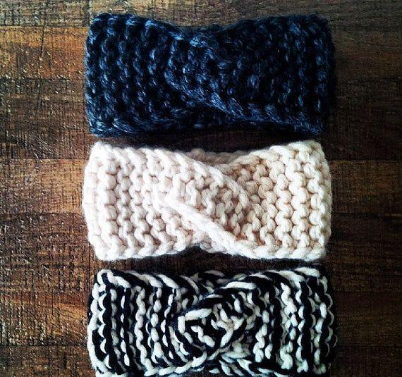 10 knit headband ear warmer patterns the funky stitch