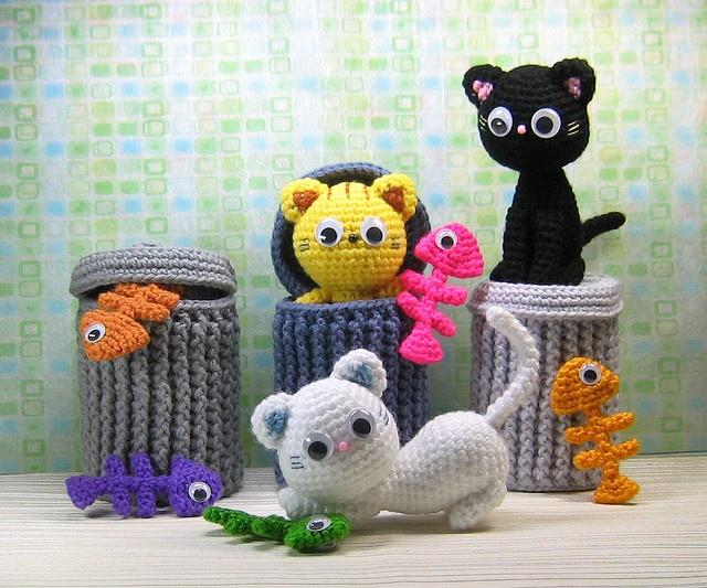 Cute Amigurumi Knitting Patterns : Amigurumi knitting patterns the funky stitch