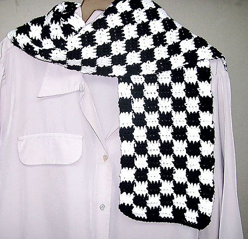 6 Double Knit Scarf Patterns - The Funky Stitch