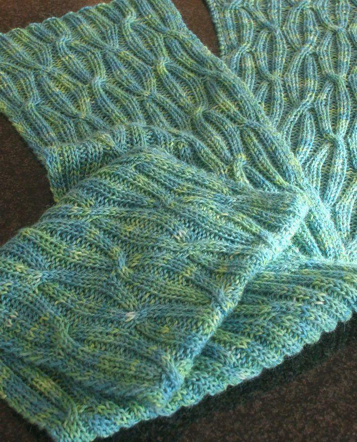6 Reversible Knit Scarf Pattern - The Funky Stitch