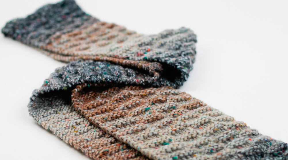 13 Chunky Knit Scarf Pattern - The Funky Stitch