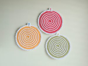 121 Crochet Potholder Patterns - The Funky Stitch