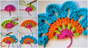 Crochet Valance Patterns colorful