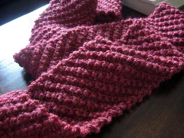 4 Diagonal Knit Scarf Patterns The Funky Stitch