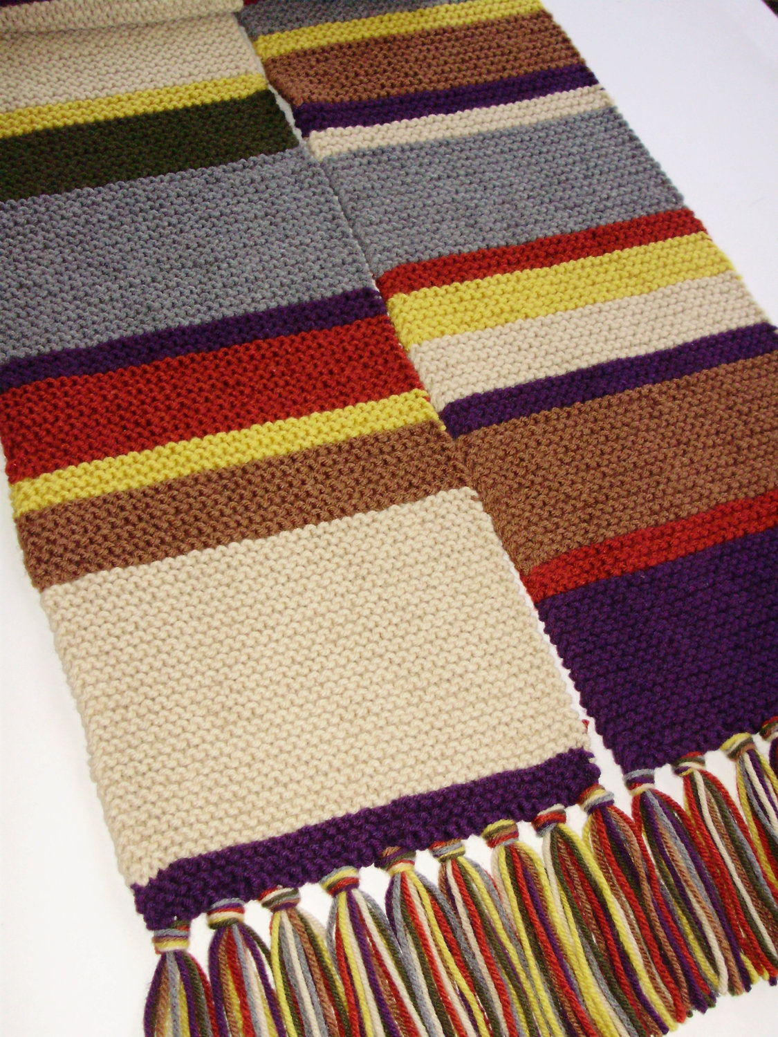 4 Doctor Who Scarf Knitting Pattern - The Funky Stitch