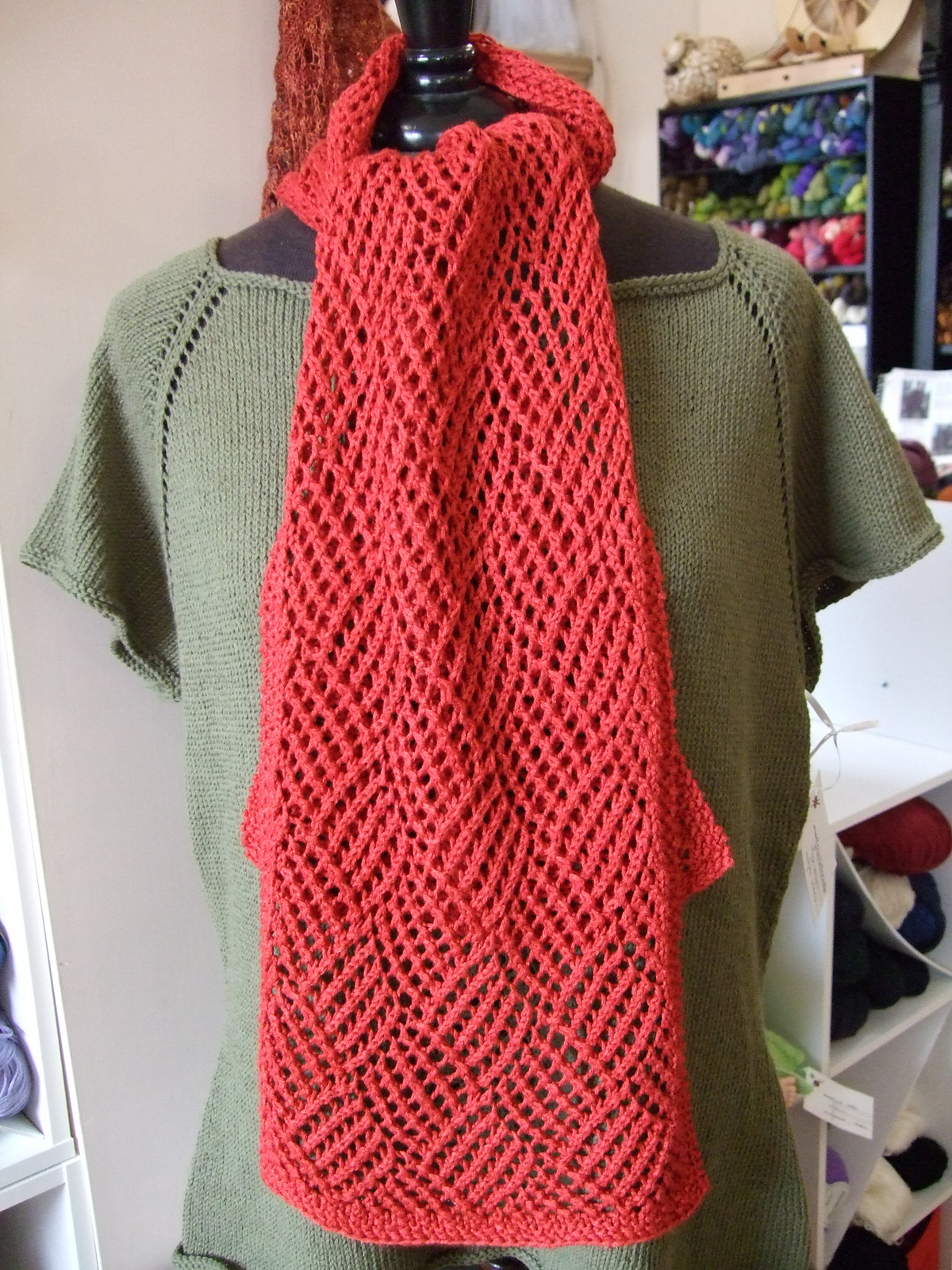 Reversible Knitting Patterns For Scarves Cool Decorating