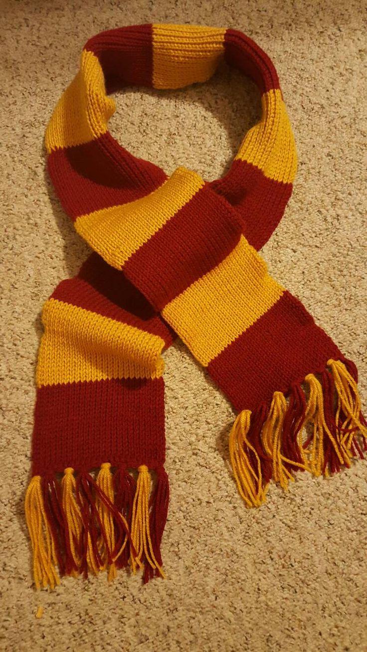 8 Harry Potter Scarf Knitting Pattern - The Funky Stitch