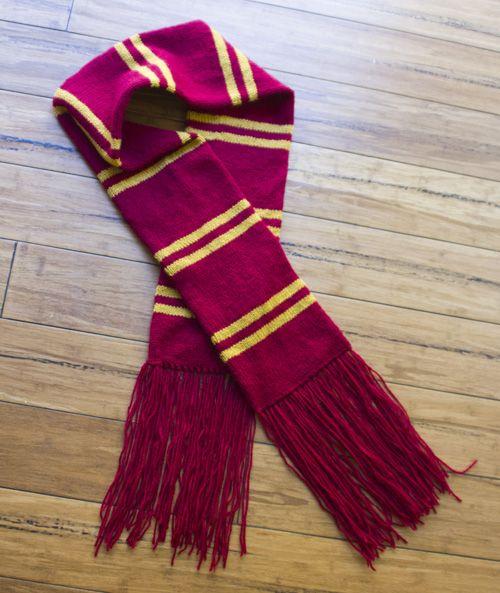 8 Harry Potter Scarf Knitting Pattern The Funky Stitch