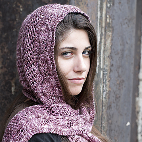 14 Hooded Scarf Knitting Pattern The Funky Stitch