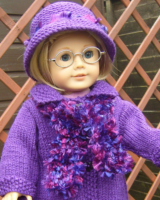 16 Knitting Patterns for American Girl Dolls - The Funky ...