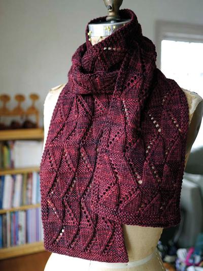 10 Lace Scarf Knitting Pattern The Funky Stitch
