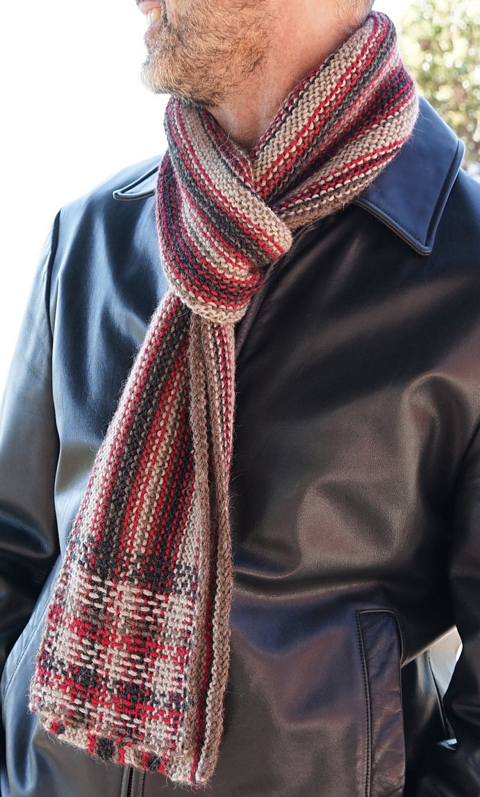 6 Double Knit Scarf Patterns - The Funky Stitch