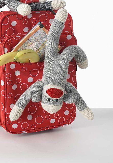 13 Sock Monkey Knitting Pattern - The Funky Stitch