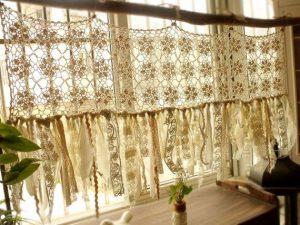 beige Crochet Valance Patterns