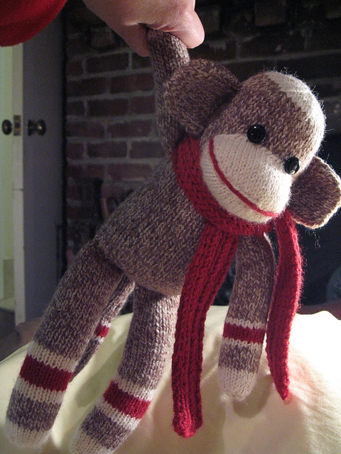 13 Sock Monkey Knitting Pattern The Funky Stitch