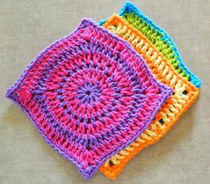 43 Crochet Dishcloth Patterns The Funky Stitch